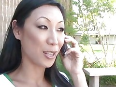 Tia Ling has her Asian fur pie stretched by a monster