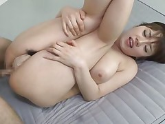A deep hard gazoo fingering is barely enough for this beautiful nippon milf. She's a busty beauty that needs a hard dick between her pink lips and in her tight anus so her man gives her everything she needs after fingering her gazoo hole. Watch her in action, isn't she a lustful smokin' sexy whore?