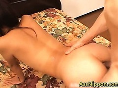 Dped and Creamed Asian Porn Video
